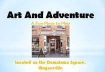 Art and adventure cover slide cv
