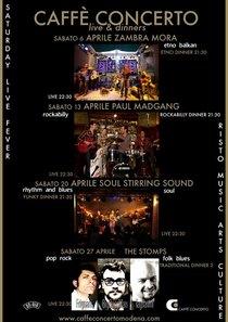Caffe concerto program of upcoming events cv