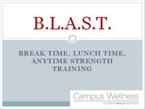 Blast presentation picture cv