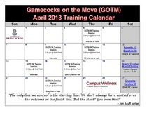 Gotm april training sessions pic cv