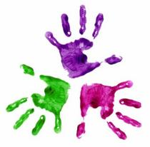 Handprints3 painted hands cv