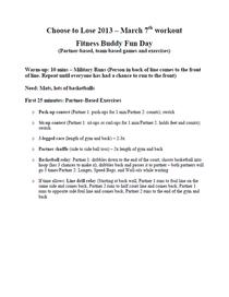 Fitness buddies 3.7 cv