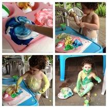 Messy toddler cv