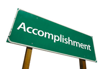 Bigstockphoto accomplishment   road sign 273784811 cv