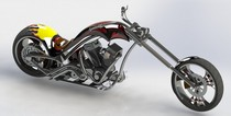 Custom chopper cv
