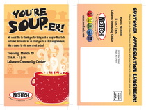 Soup er invite front and back cv