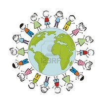 18333970 earth day illustration with children over white background vector cv