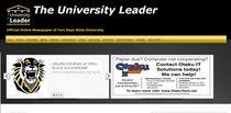 Leader top page cv