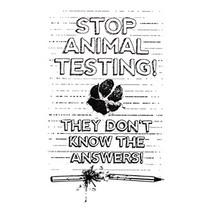 Stop animal testing 1 cv