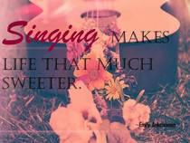Singing cv
