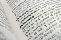 Philosophy dictionary definition cv