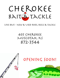 Cherokee bait tackle cv