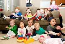 Down syndrome babies children party group picture toddlers 2 640x437 cv