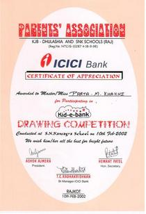 Icici drawing comp cv