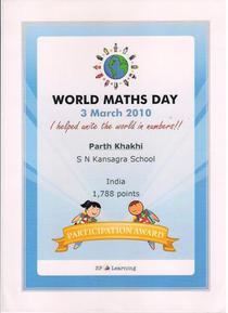 World math day cv