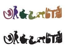 Urgent typography cv
