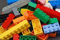 Lego color bricks cv