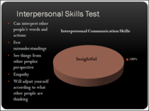 Interpersonal 8 cv