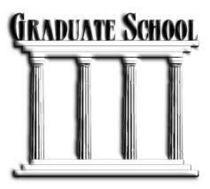Grad school cv