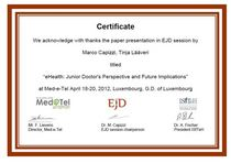 Certificato ejd session med e tel cv