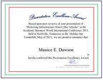 2013 abwic presentation award cv