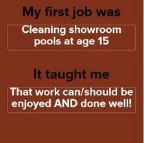 First job cv