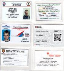 Stephen certificates cv