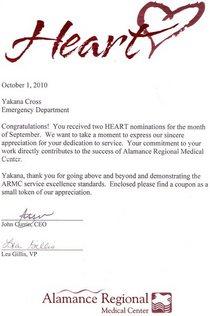 Heart award oct 2010 cv