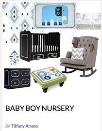 Baby boy nursery cv
