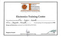 Electronic traning center cv