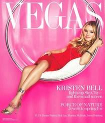 Kristen bell vegas magazine cv