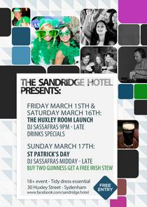 Paddys day weekend flyer small cv