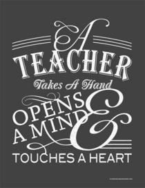 A teacher cv