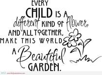 Every child a flower cv