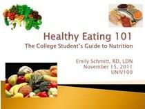 Healthyeating cv