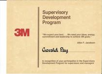 3m supervisory development program cv