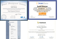 All certificates merged cv