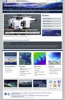Noaa okeanos homepage cv