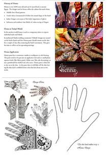 History of henna full cv