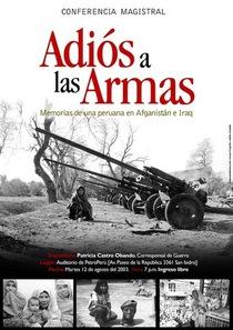 Afiche adios a las armas cv