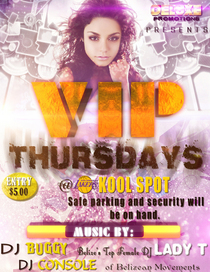 Vip thursday realy official cv