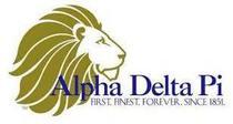Alpha delta pi cv
