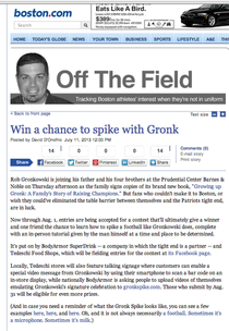 Gronk boston.com article cv