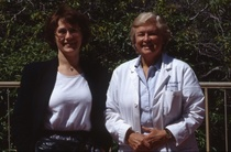 Dr dinah parums and the late professor margaret billingham stanford may 1993. cv