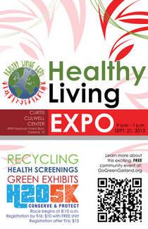 Healthy living 2013 poster final cv