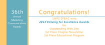 2013 award wins cv