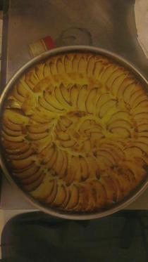 Apple tart cv