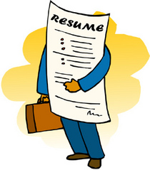 Resume clipart cv