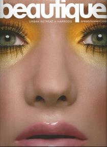 Beautique magazine cover cv