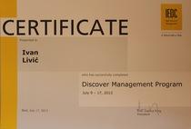 Certificate iedc  ivan livic cv